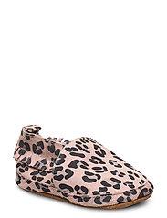 Leather Shoe - Leopard - ALT ROSA