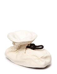 Bootees Cotton Corduroy - 410/OFFWHITE