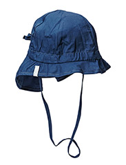 Hat w/neck & bow - Solid col - 285/MARINE