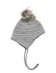 WOOL Hat Baby - LIGHT GREY MELANGE