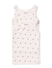 Numbers, 2-pk AOP Girls Top - 704/BRIGHT LILAC