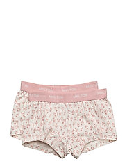 Numbers, 2-pk AOP Girl Shorts - 102 LATé