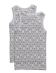 Numbers, 2-pk AOP Boys Top