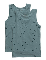 Numbers, 2-pk AOP Boys Top - PASTEL BLUE