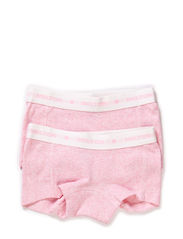 Numbers, 2-pk Rib Girl Shorts - 503/BABY ROSE