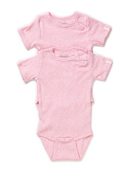 Numbers, 2-pk SS Rib Body - BABY ROSE