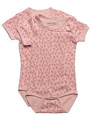 Numbers, 2-pk SS AOP Body - 503 BLUSH ROSE