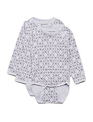 Numbers, 2-pk LS AOP Body - CLOUD LILA