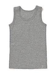 Numbers 1pck - Boys Wool Top - 135/LIGHT GREY MELANGE