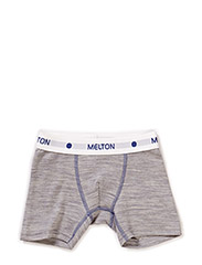 Numbers 1pck - Boys Wool Boxer - 135/LIGHT GREY MELANGE