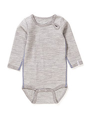 Numbers 1pck - LS Wool Body - 135/LIGHT GREY MELANGE