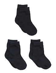 Numbers 3-pack Socks - Single - 285 / MARINE