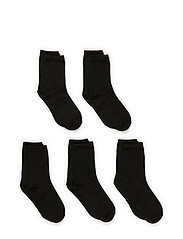 5-pack Socks, Single colour - 190/BLACK