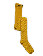 Bamboo/Wool Tights Structure - YELLOW