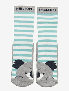 ABS Sock Terry - Koala - LIGHT GREY MELANGE