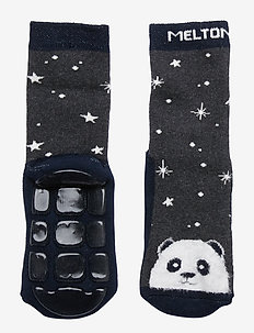 ABS TERRY Sock - Panda - DARK GREY MELANGE