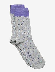 Sock - Sprinkle - LIGHT GREY MELANGE