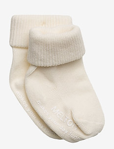 Baby sock, turn-up - 410/OFFWHITE