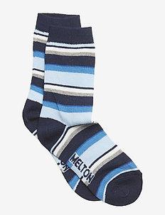 Sock - Stripe - MARINE