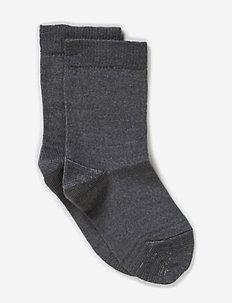 Classic Superwash wool sock - socks - 135/light grey melange