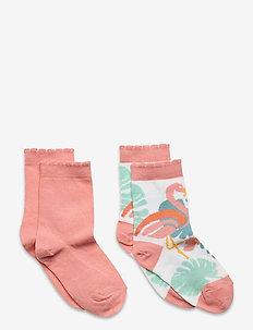 Hailey 2-pack socks - skarpetki - white