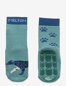 Miles socks with anti-slip - skarpetki antypoślizgowe - blue