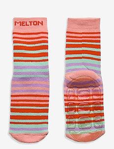 Willow socks with anti-slip - anti-rutsch socken - rose