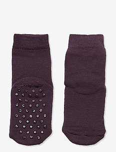 Basic Sock - Wool w/Full Terry - rose