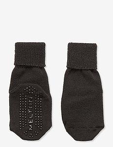 ABS Wool Sock - LET'S GO - skarpetki antypoślizgowe - grey