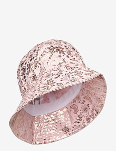 Bell hat with print - kapelusz przeciwsłoneczny - rose