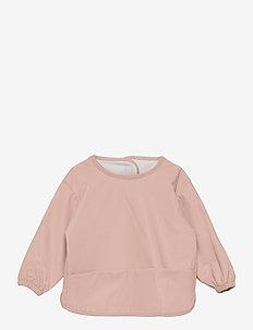 Blouse solid colour - Śliniaczek - rose