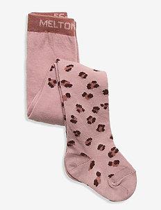 Leopard tights - strumpfhosen - rose