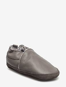 Leather shoe - Loafer - domowe - 150/darkgrey