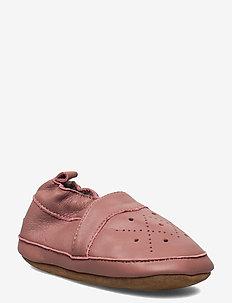 Leather Shoe - Animal Skin - slippers - burlwood
