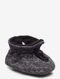 Glitter Booties - domowe - grey