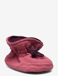 Glitter Booties - slippers - rose