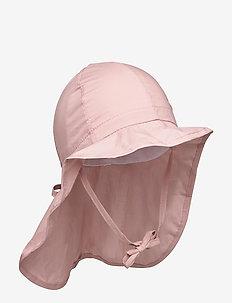 Hat w/neck & ties - Solid - kapelusz przeciwsłoneczny - alt rosa