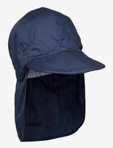 Cap w/neck - Solid colour - czapki i kapelusze - 285/marine