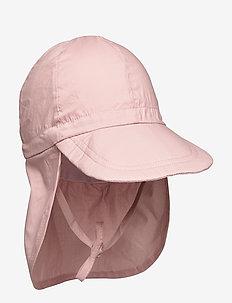 Cap w/neck - Solid colour - czapki i kapelusze - alt rosa