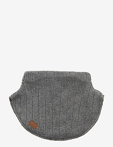 WOOL - Neckwarmer - GREY MELANGE