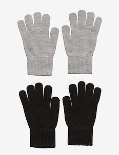 2-Pack, Gloves - 190/Black