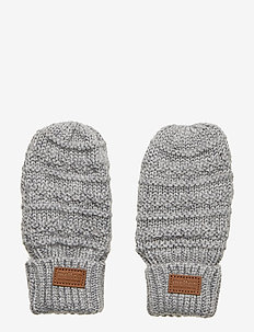 WOOL Mittens Baby - LIGHT GREY MELANGE