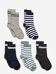 5-Pack Socks - Girls - chaussettes - light grey