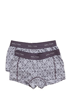Numbers, 2-pk AOP Girl Shorts - CLOUD LILA