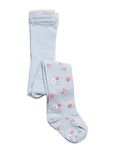 Babytights - Flowers - 204 LIGHT BLUE