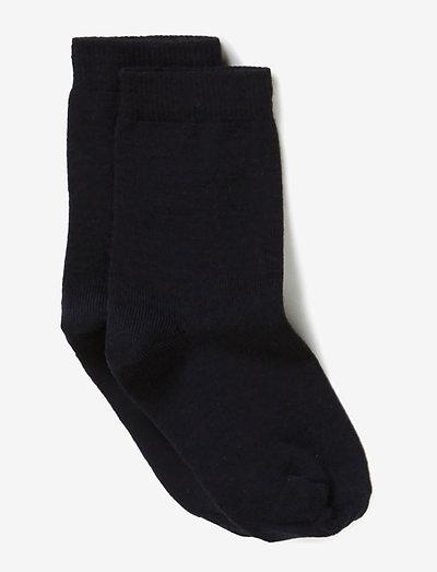 Classic, Basic Wo/Co Sock - strømper - 285/marine