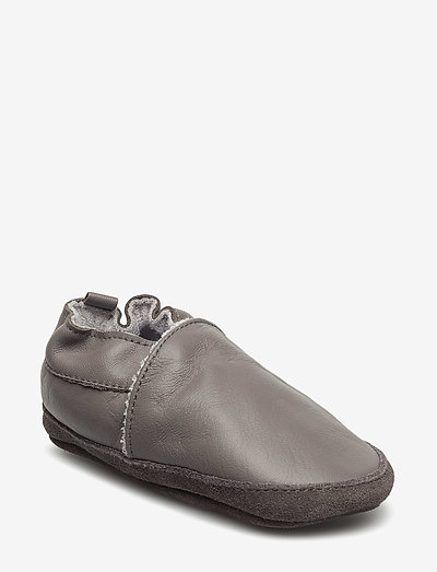 Leather shoe - Loafer - slippers - 150/darkgrey