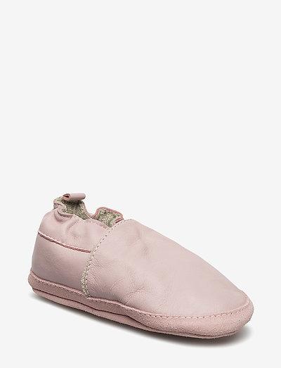 Leather shoe - Loafer - hjemmesko - 507/altrosa