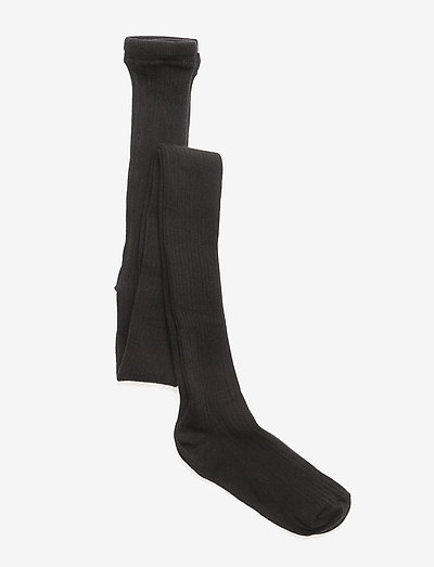 Tights All Size - Rib Basic - strømpebukser - black
