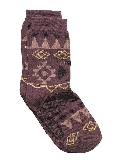 Sock - Tribal w/Lurex - FIG